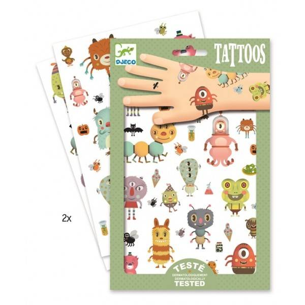 Djeco Djeco Tatoeages - Monsters