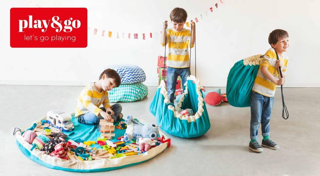 Play & Go Play & go Speelmat en Opbergzak - Diamond Blue