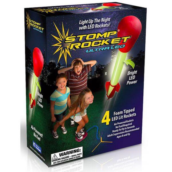 Stomp Rocket met led-licht