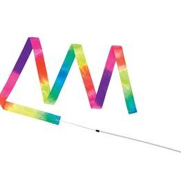 Ritmische gymnastiek danslint regenboog