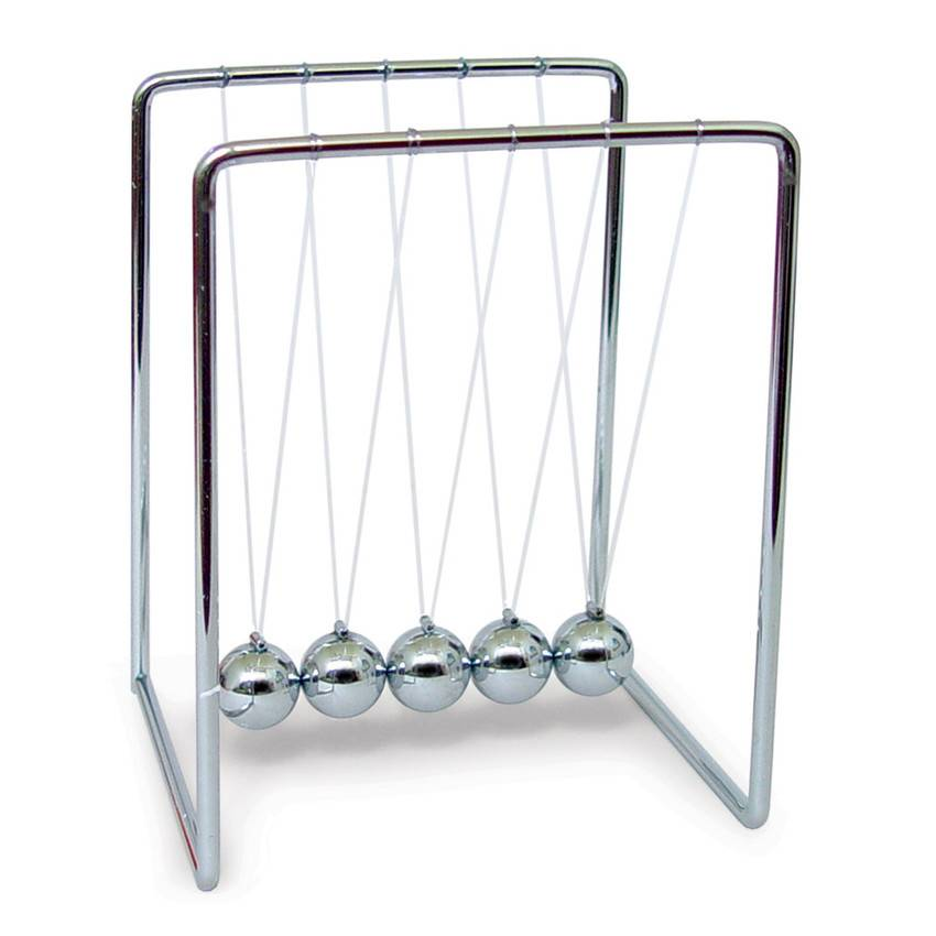 Newton's cradle kogelspel