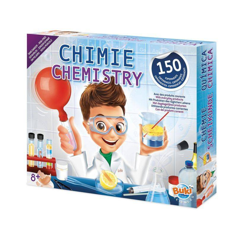 Buki Chemie/Scheikunde doos   150 experimenten
