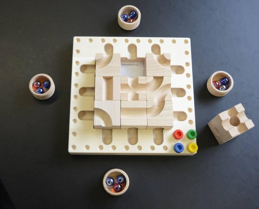 Cuboro CuboroTricky Ways (knikkerbaan spel)