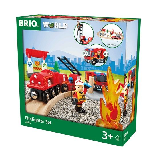 Brio Brio Brandblus treinset