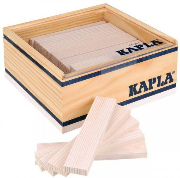 Kapla speelgoed Kapla Wit (40 stuks)