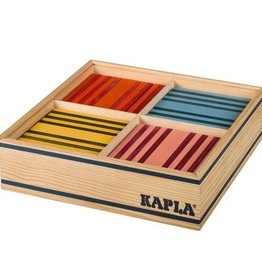 Kapla speelgoed Kapla 8 kleuren doos (100 stuks)