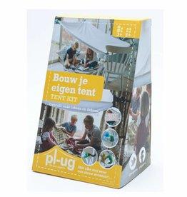 Pl-ug. Bouw je eigen tent (tent kit)