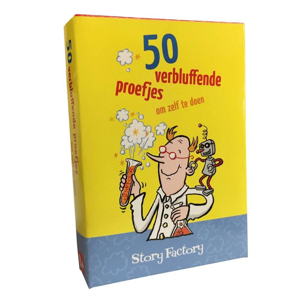 50 verbluffende proefjes (om zelf uit te voeren)