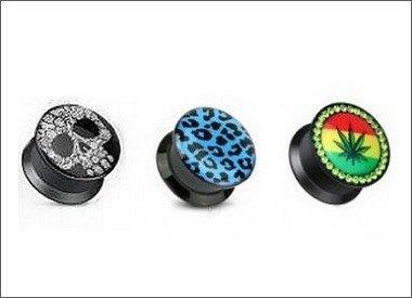 Kunststoff Silikon Plugs