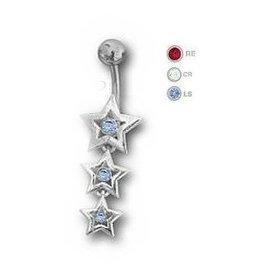 Bauchnabel Piercing Stern