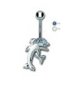 Delfin Bauchnabelpiercing