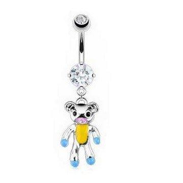 Bauchnabelpiercing Teddybär