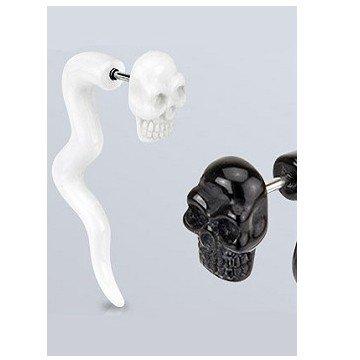 Fake Ohrstecker Skull