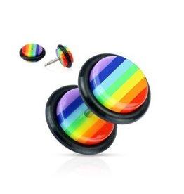 Fakeplug Regenbogen