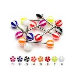 Kunststoff-Zungenpiercing