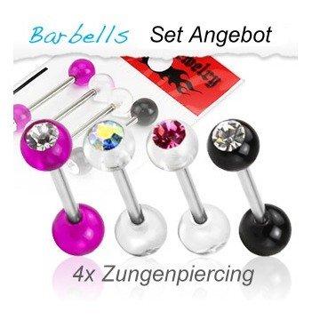 Zungenpiercing Setangebot