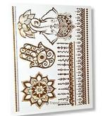 Gold Tattoo Symbole zum aufkleben