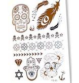 Fake Tattoos Metallic