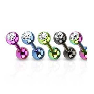 Tragus Piercing - 5 Farben