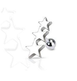 Tragus Piercing Sterne