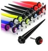 UV Acryl Fakepiercing in verschiedenen Farben