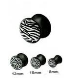 Picture Acryl Plug Zebra