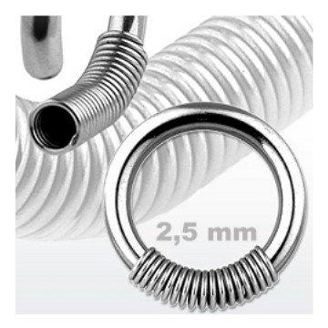 2,5 mm Cobra Ring - aufschiebbar
