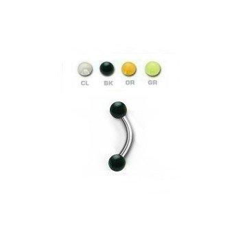Augenbrauen Piercing - 4 Farben
