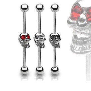 Industrial Piercing Totenkopf