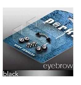 Piercing Set für Augenbrauen