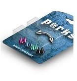 Piercing SET mit Kegeln in verschiedenen Farben