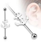 Piercing Industrial mit Anker
