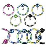 BCR-Ring 1.2 mm gestreift - 2-färbig