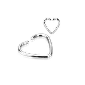 Heartilage-Piercing aus Chirugenstahl