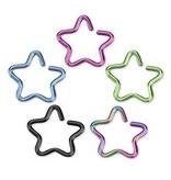 Daith Piercing - Stern 5 Farben
