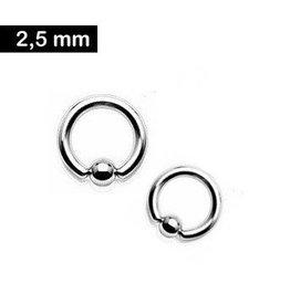 2,5 mm BCR - Ring