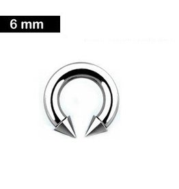 6,0 mm Piercingring