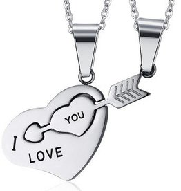 Partnerkette - ich liebe dich