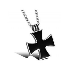 Edelstahlkette mit Eisernen Kreuz