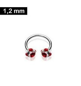 1,2 mm Hufeisen Piercing