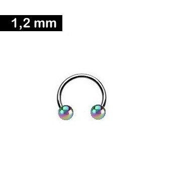 Lippenpiercing Ring 1,2 mm
