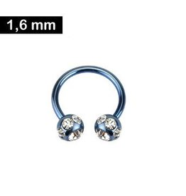 1,6mm Intimpiercing Ring