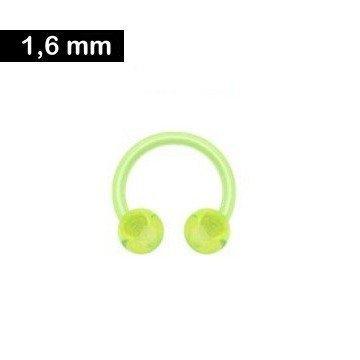 Kunststoff Circular Barbell - 1,6 mm