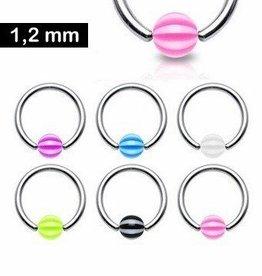1,2 mm BCR-Ring mit UV-Ball