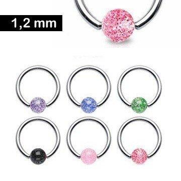 1,2 mm UV-Ring - 6 Farben