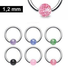 1,2 mm UV- Piercingring
