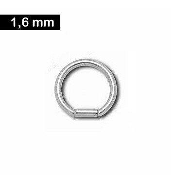 BCR Ring mit Verschlusshülse - 4 Größen