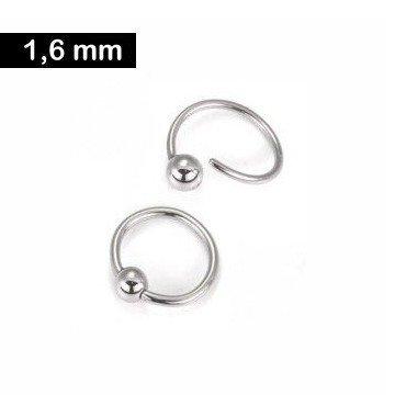 1,2 mm BCR-Ring mit Spiralverschluss