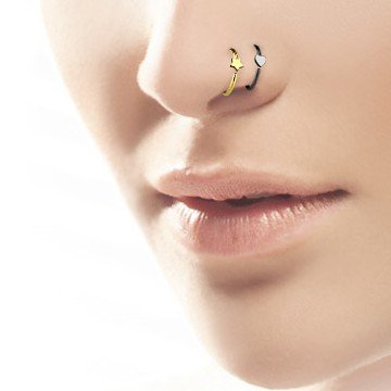 Tragus Ring Gold