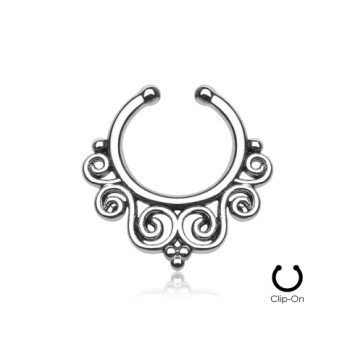 Fake Septum Piercing Schmuck Ornament